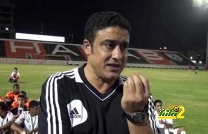 عادل عبد الرحمن مدرب الاولمبى بالشباب